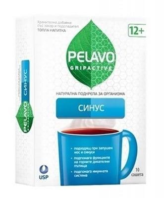 Pelavo gripactive sinus 10 sachets / Пелаво Грипактив Синус 10 сашета
