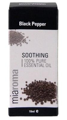 Essential black pepper oil 10 ml Miaroma / Етеричното масло от Черен пипер 10 мл. Miaroma