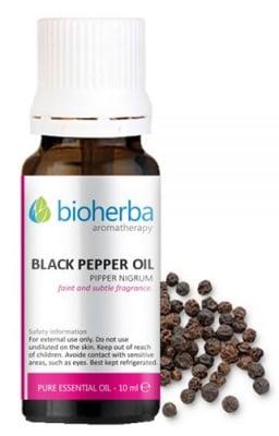 Bioherba Black pepper oil 5 ml. / Биохерба Етерично масло от черен пипер 5 мл.