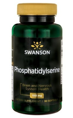Swanson Phosphatidylserine 100 mg 90 capsules / Суонсън Фосфатидилсерин 100 мг. 90 капсули
