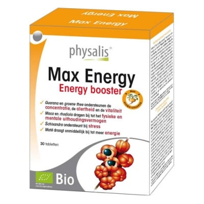 Physalis Max energy 30 tablets / Физалис Макс енерджи 30 таблетки
