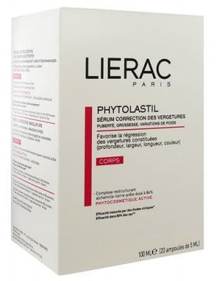 Lierac Phytolastil Stretch mark correction serum 20 ampoules  / Лиерак Фитоластил 20 броя ампули срещу стрии