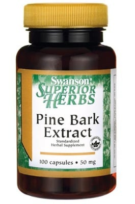 Swanson pine bark extract 50 mg 100 capsules / Суонсън екстракт от Борова кора 50 мг. 100 капсули