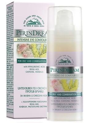 Pirin dream Intensive eye contour gel 30 ml. / Пирин дрийм Интензивен гел около очи против бръчки 30 мл.