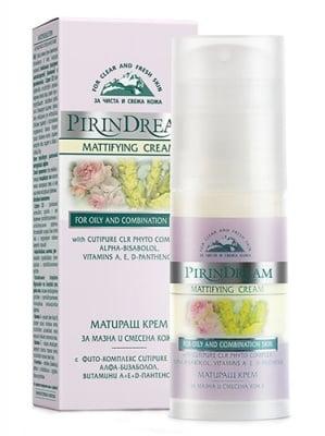 Pirin dream mattifying cream 50 ml. / Пирин дрийм матиращ крем за мазна и смесена кожа 50 мл.