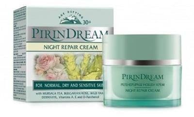 Pirin dream night repair cream 50 ml. / Пирин дрийм регенериращ нощен крем 50 мл.