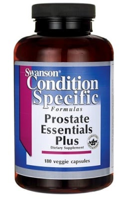 Swanson prostate essentials 90 capsules / Суонсън Добавка за простата 90 капсули