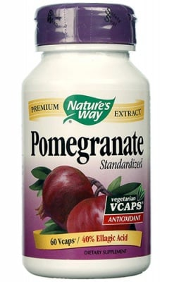 Pomegranate 350 mg. 60 capsules Nature's Way / Нар 350 мг. 60 капсули Nature's Way