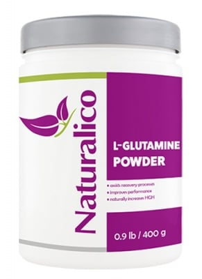 Naturalico L-glutamine powder 400 g / Натуралико L-глутамин прах 400 гр.