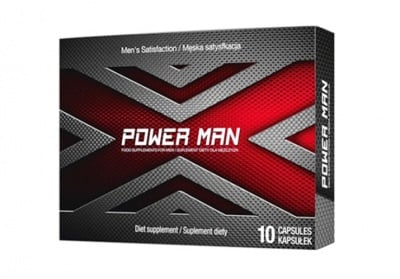 Power Man 10 capsules / Пауър Мен 10 капсули