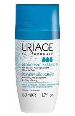 Uriage Power 3 Deodorant 50 ml / Уриаж Део Рол - Он Пауър 3 50 мл.