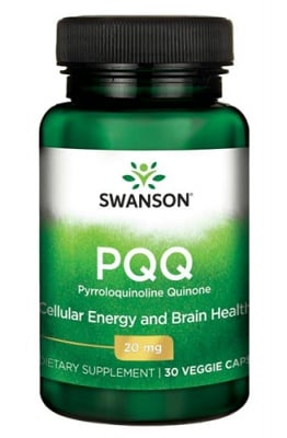 Swanson PQQ 20 mg 30 capsules / Суонсън Пиролоквинолин Квинон 20 мг. 30 капсули