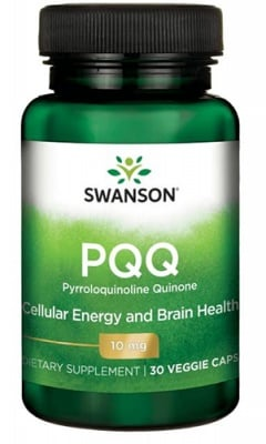 Swanson PQQ 10 mg 30 capsules / Суонсън Пиролоквинолин Квинон 10 мг. 30 капсули
