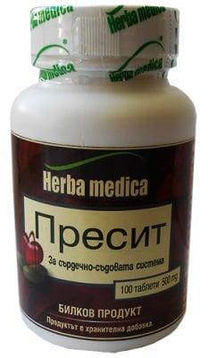 Пресит Хербамедика, Брой таблетки: 100