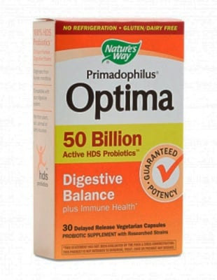 Primadophilus optima digestive balance 30 capsules Nature`s way / Примадофилус Оптима дигестив баланс 30 капсули Nature`s way