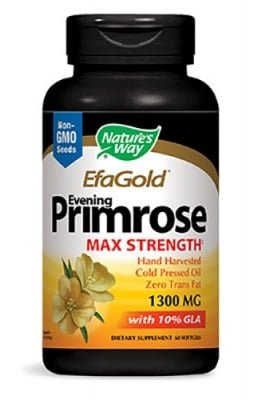 Evening primrose 1300 mg 60 capsules Nature's Way / Иглика масло 1300 мг. 60 капсули Nature's Way