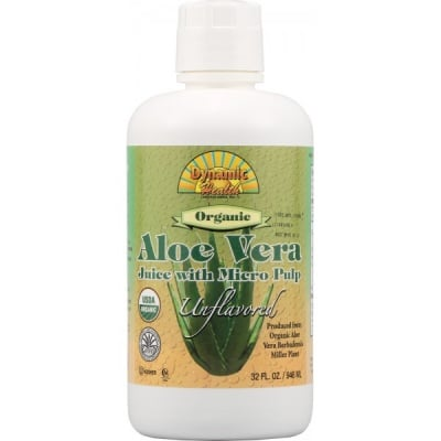 Aloe Vera organic juice 946 ml. Dynamic Health / Алое Вера Органик сок 946 мл. Динамик Хелт