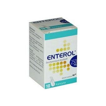 Enterol / Ентерол капс., Брой капсули: 10