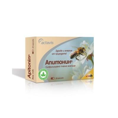 Apitonin / Апитонин капс., Брой капсули: 20