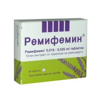 Remifemin / Ремифемин табл., Брой таблетки: 60