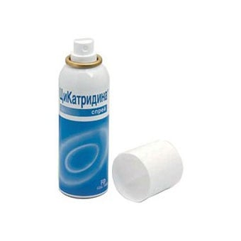 Cicatridina spray / Цикатридина спрей, Спрей: 125 ml