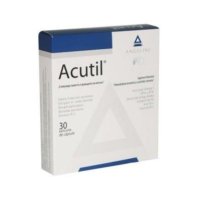 Acutil / Акутил, Брой капсули: 30