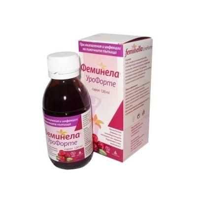Feminella Uroforte / Феминела Урофорте сироп, Сироп: 120 ml