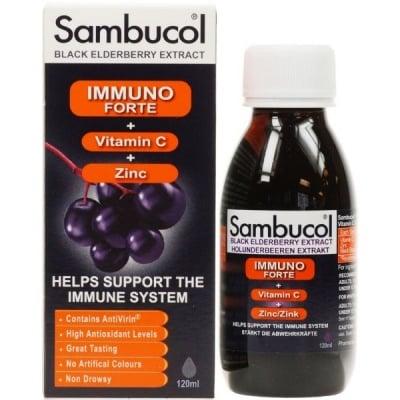 Sambucol / Самбукол Имунофорте сироп, Сироп: 120 ml