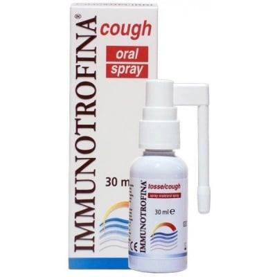 Immunotrofina / Имунотрофина спрей за кашлица, Спрей: 30 ml