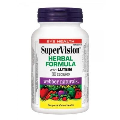 Webber Naturals SuperVision / Супер Вижън с лутеин, Брой капсули: 90