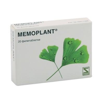 Memoplant / Мемоплант табл., Брой таблетки: 20