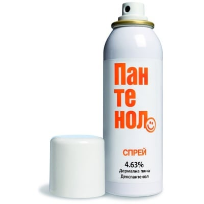 Panthenol spray / Пантенол спрей, Спрей: 130 g