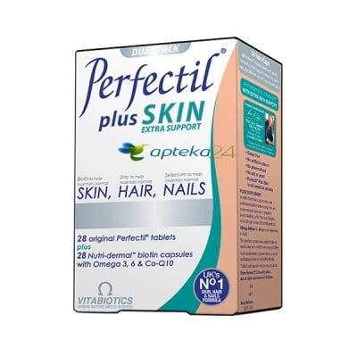 Perfectil Plus Hair, Skin and Nails 28 capsules + 28 tablets / Перфектил Плюс Коса, Кожа и Нокти 28 капсули + 28 таблетки