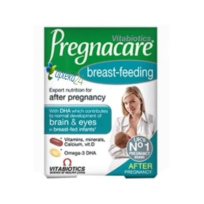 Pregnacare Breast-feeding 56 tablets + 28 capsules Vitabiotics / Прегнакеър за кърмачки 56 таблетки + 28 капсули Витабиотикс