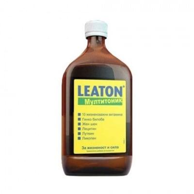 Leaton / Леатон мултитоник Сироп за възрастни, Течност: 500 ml