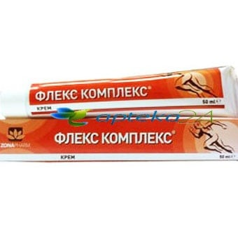 Flex Complex cream 50 ml. / Флекс Комплекс крем 50 мл., Крем: 50 ml