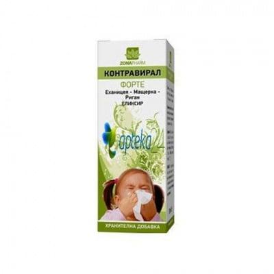 Contraviral forte 50 ml. / Контравирал Форте еликсир 50 мл.