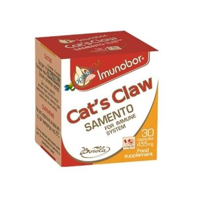Imunobor Cat's claw 455 mg 30 capsules / Имунобор Котешки нокът 455 мг. 30 капсули