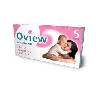 Тест за овулация Oview, Брой: 5