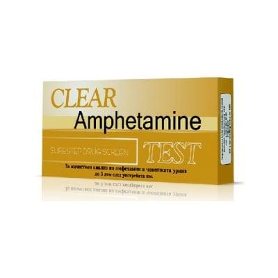 Тест за наркотици Clear Амфетамин лента