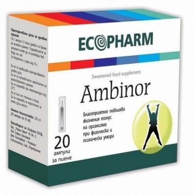 Ambinor / Амбинор амп., Брой ампули: 20