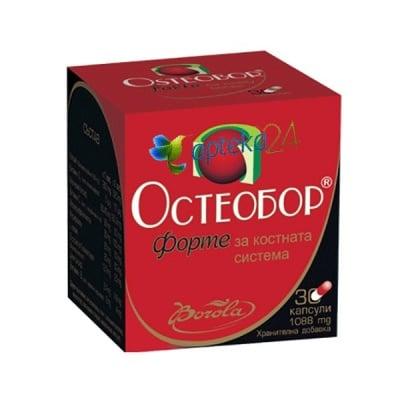 Osteobor Forte 30 capsules / Остеобор Форте 30 капсули, Брой капсули: 30