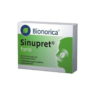 Sinupret Forte / Синупрет Форте, Брой таблетки: 20