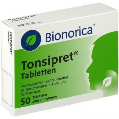 Tonsipret / Тонзипрет, Брой таблетки: 50