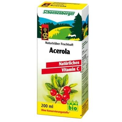 Schoenenberger Био сок от Ацерола, Сок: 200 ml