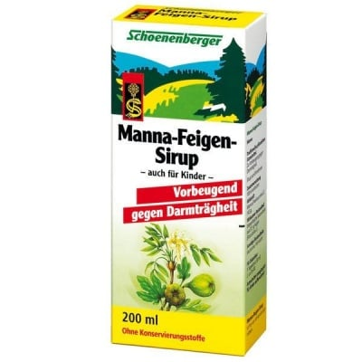 Schoenenberger Манно-смокинов сироп, Сок: 200 ml