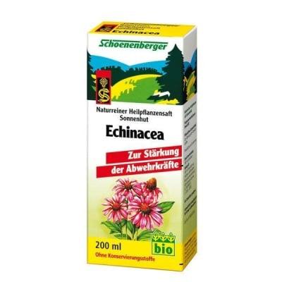 Schoenenberger Био сок от Ехинацея, Сок: 200 ml