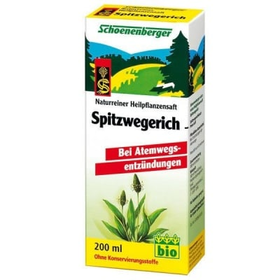 Schoenenberger Био сок от Живовляк, Сок: 200 ml