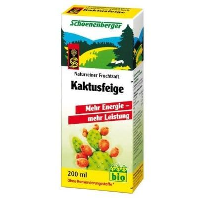 Schoenenberger Био сок от Кактусов плод, Сок: 200 ml