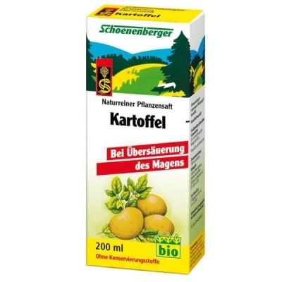 Schoenenberger Био сок от Картофи, Сок: 200 ml
